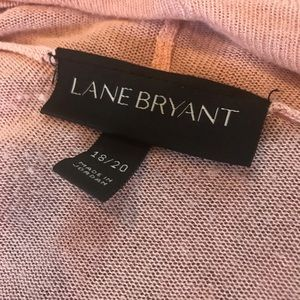 Lane Bryant Jackets & Coats - LANE BRYANT DUSTY PINK SIZE 18/20 CARDIGAN